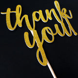 Cake Toppers - Thank You Cake Topper