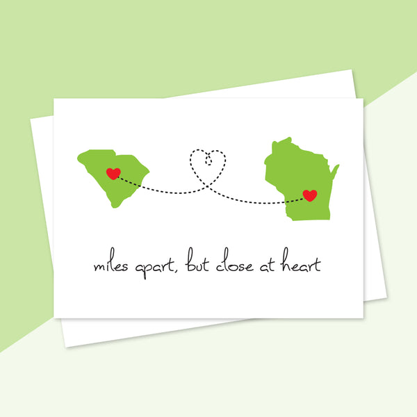 Personalized States Card