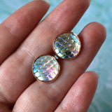 Earrings - Opal Mermaid Earrings