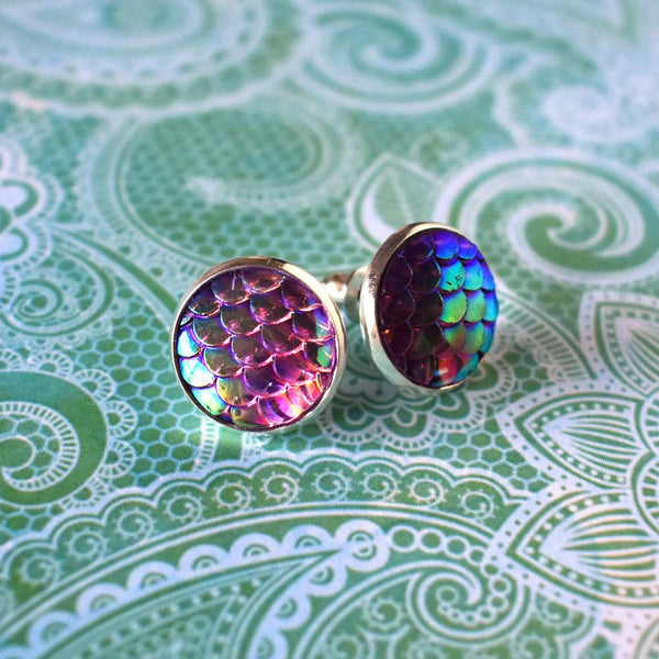 Earrings - Rainbow Mermaid Earrings