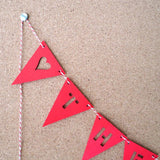 Garland - Personalized Triangle Banner