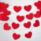 Garland - Red Heart Garland