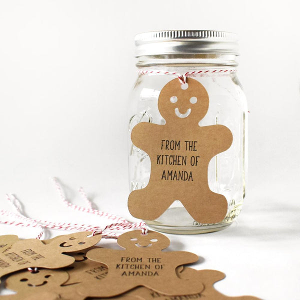 Gift Tags - Gingerbread Man Gift Tags