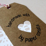 Gift Tags - Handmade With Love Gift Tags