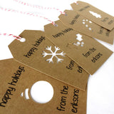 Gift Tags - Happy Holidays Gift Tags