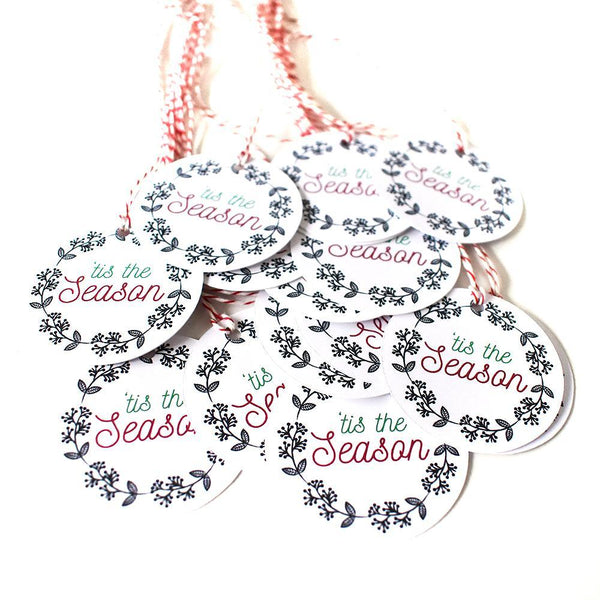 Gift Tags - 'Tis The Season Gift Tags