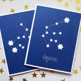 Greeting Cards - Zodiac Constellation Card