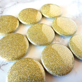 Magnets - Gold Glitter Fridge Magnets
