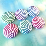 Magnets - Mermaid Scales Fridge Magnets