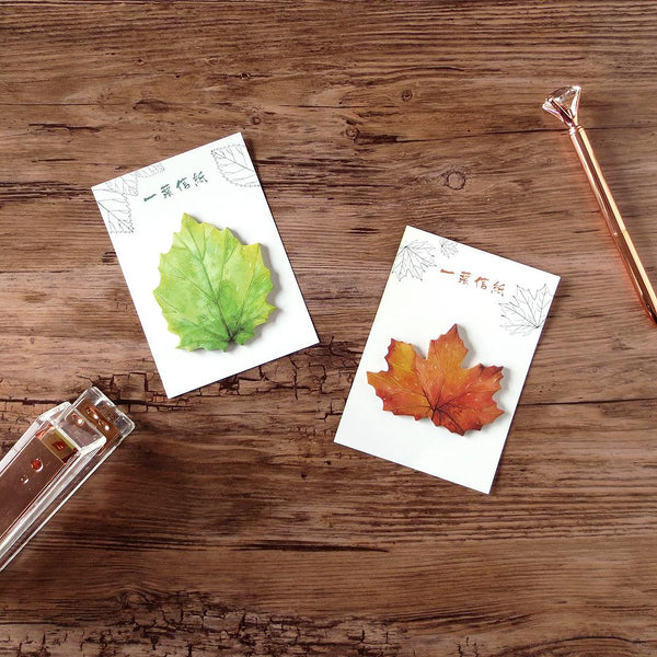 Notepads - Leaf Sticky Notes