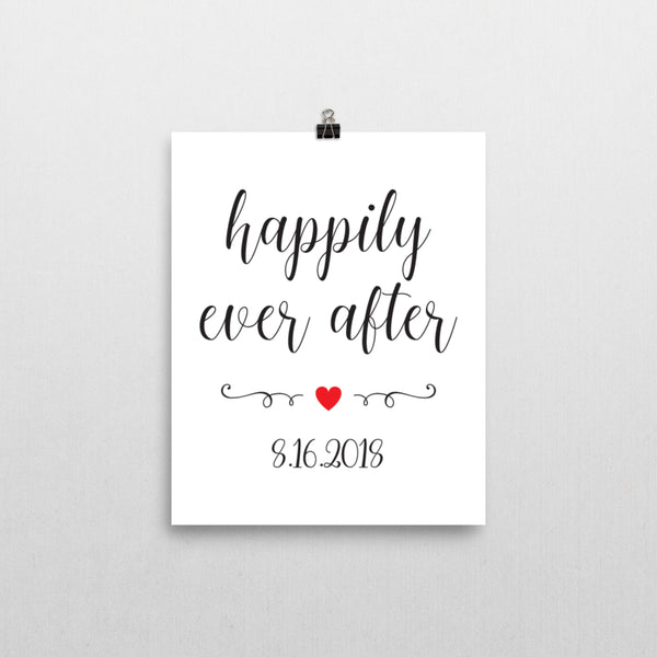 Print - Happily Ever After Print