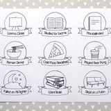 Stickers - Basic College Pack