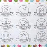Stickers - New Parents Award Stickers