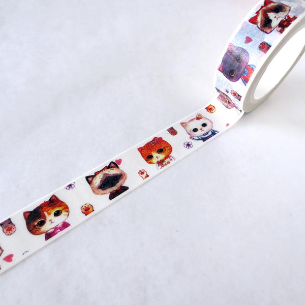 Washi Tape - Japanese Cats Washi Tape