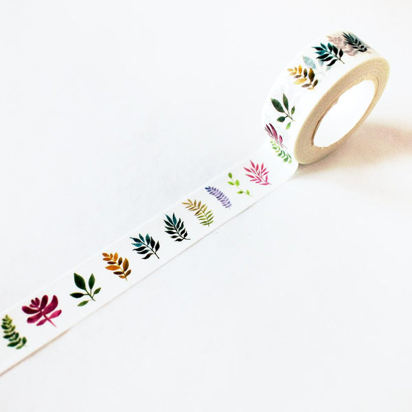 Washi Tape - Leafy Ferns Washi Tape
