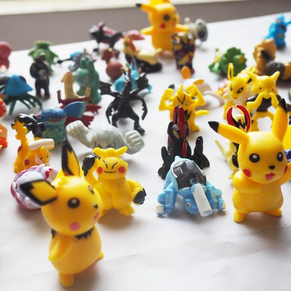 Pikachu Minifigure Action Figures