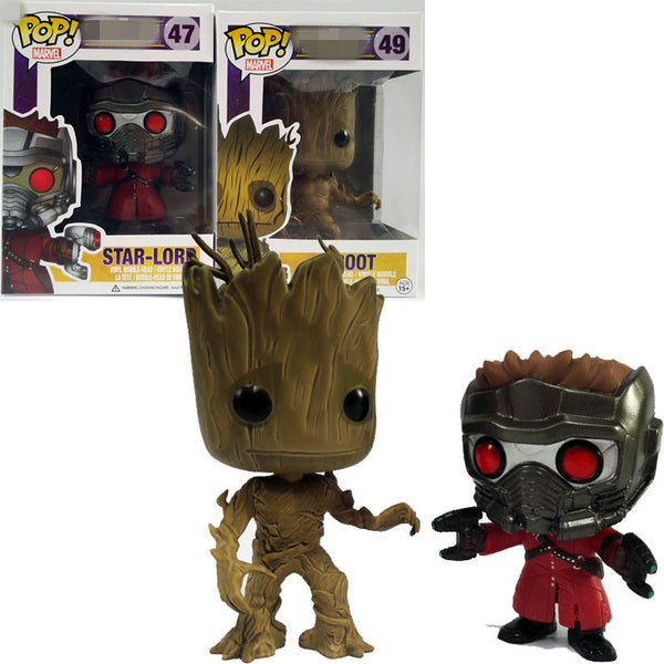 Guardians of the Galaxy Star Lord & Groot