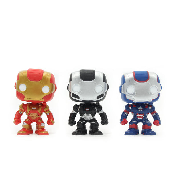 Marvel Avenger, Iron Man, and Mark VII