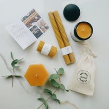 Beeswax Candle Gift Set Signature