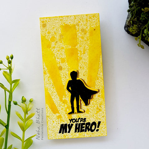 You are my hero fridge Magnet