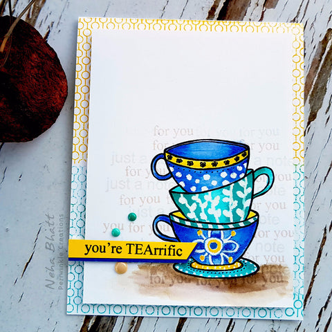 Terrific tea card