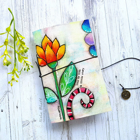 Canvas Diary - Lotus