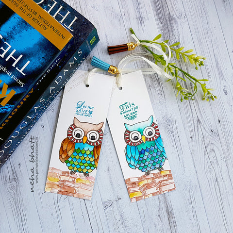 Bookmarks - Owl