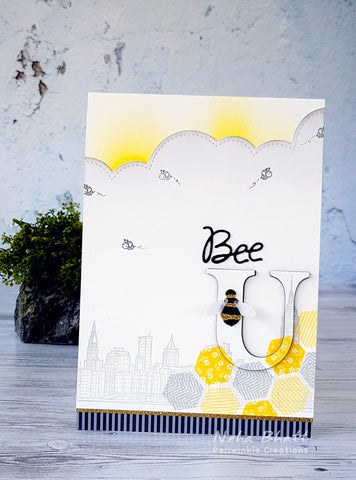 Bee You Inspirational card