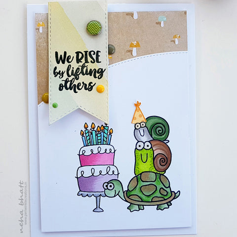 Rise Inspirational Birthday Card