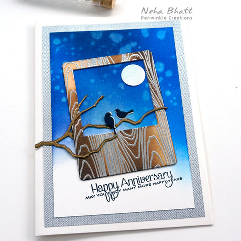 Night Sky Anniversary Card