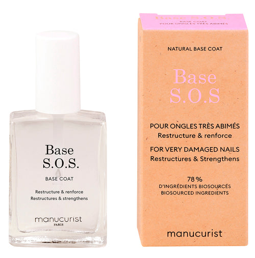 Verniz Base SOS Manucurist Green