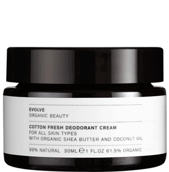 Cuidados de Corpo-Cotton Fresh Deodorant Cream-Evolve-The Green Beauty Concept