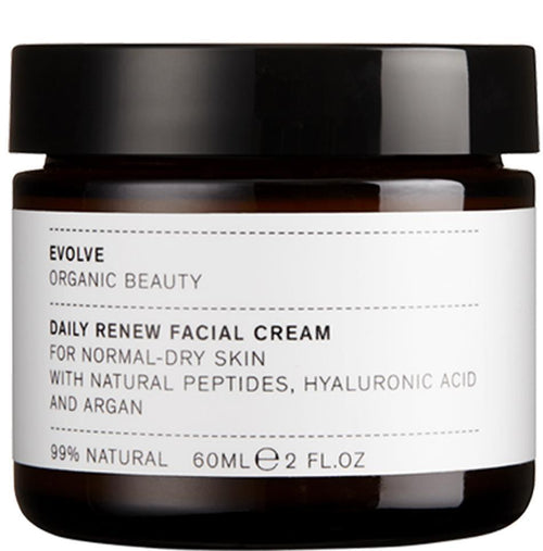 Cuidados de Pele-Daily Renew Natural Face Cream-Evolve-The Green Beauty Concept