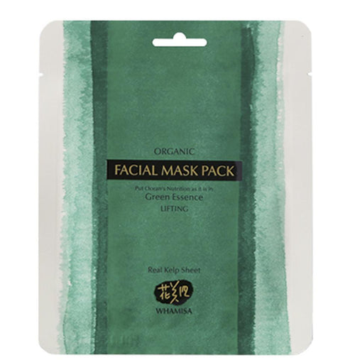 Cuidados de Pele-Kelp Sheet Mask - Máscara de Tecido-Whamisa-The Green Beauty Concept