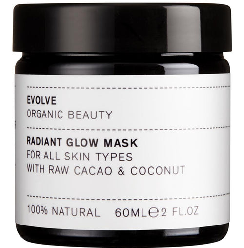 Cuidados de Pele-Radiant Glow Mask-Evolve-The Green Beauty Concept
