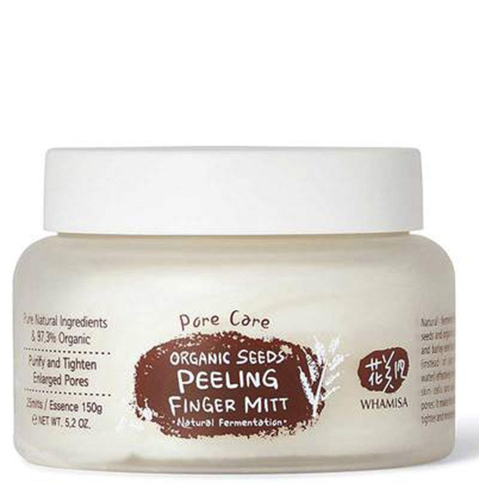 Organic Seeds Peeling Finger Mitt: Pore Care