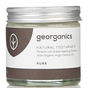 Cuidados de Corpo-Pasta de Dentes Natural - Côco Puro-Georganics-The Green Beauty Concept