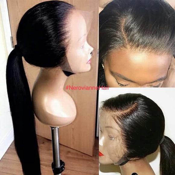 Front Lace Wig ( Straight)