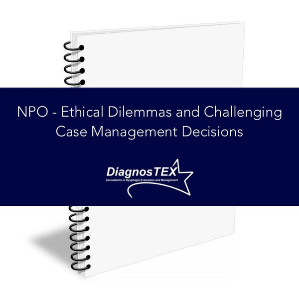 NPO - Ethical Dilemmas and Challenging Case Management Decisions