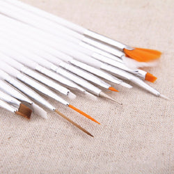 Paint Brushes 15 pieces / Set Watercolor Paint Brushes with Wooden Handle