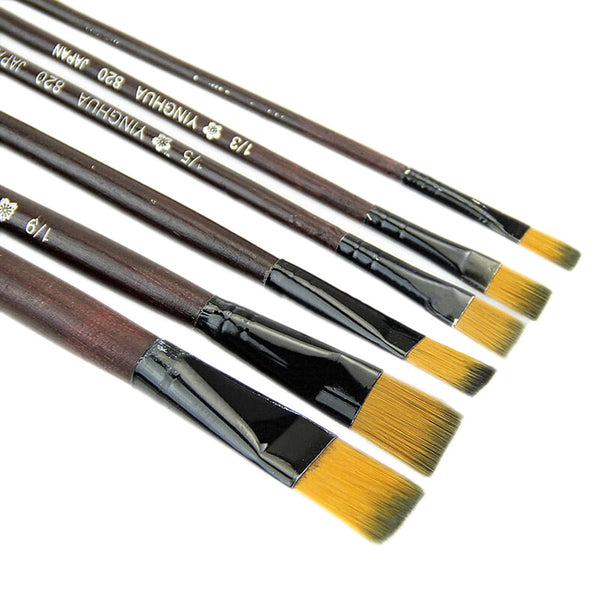 Paint Brushes 6pcs/set  Paint Brush Set for Watercolor, Oil Painting, Acrylics
