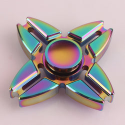 Fidget Toy Colorful Fidget Hand Spinner THREE Unique Styles Calming toy for fidgety hands