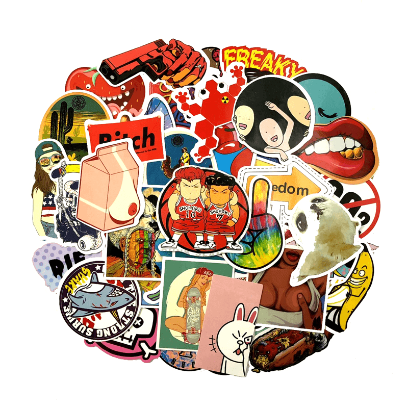 1000Pcs Cool Stickers