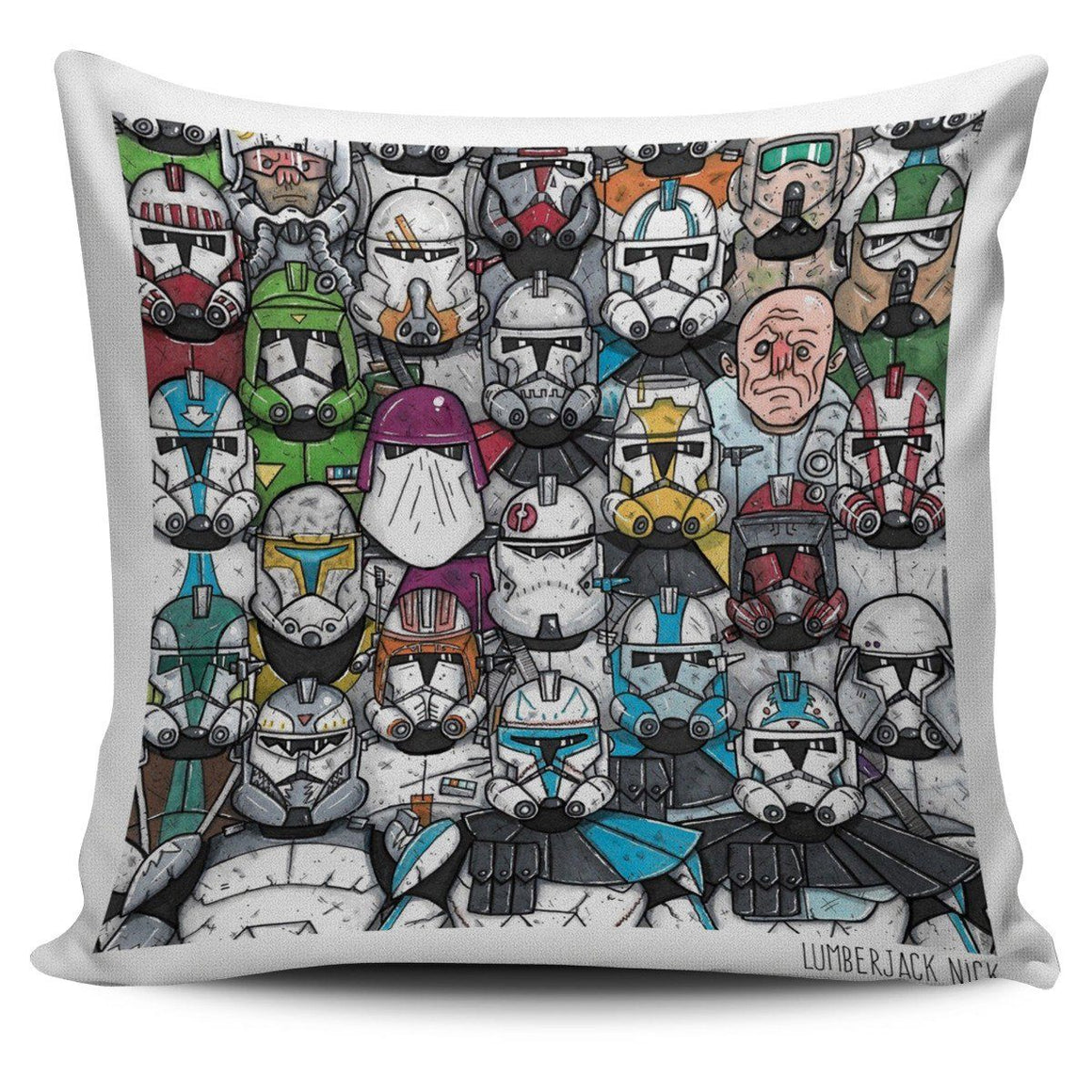 Star Wars Comic Pillow Covers