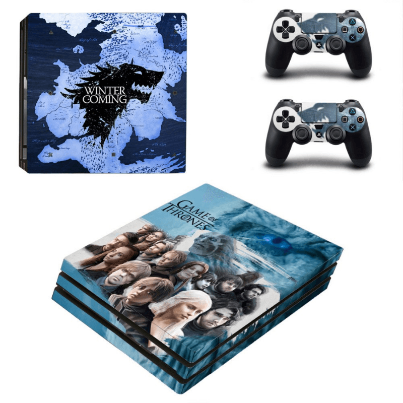 Game Of Thrones Skin For PS4 Pro