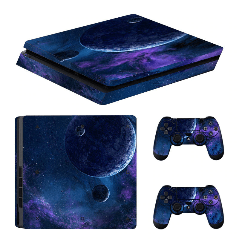 Galaxy Skin For PS4 Slim
