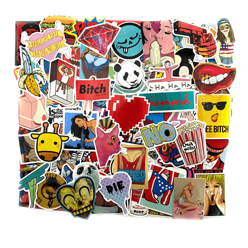 1200Pcs Cool Stickers