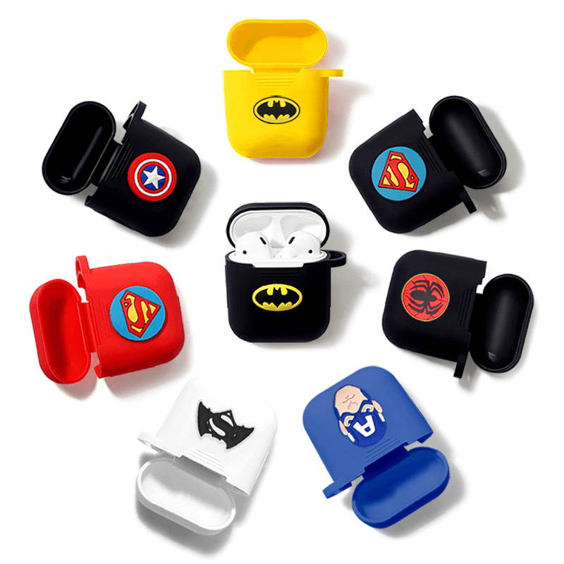 Superhero Silicone AirPods Case