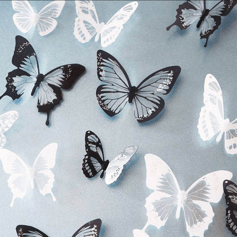 Butterfly Decorative 3D Stickers
