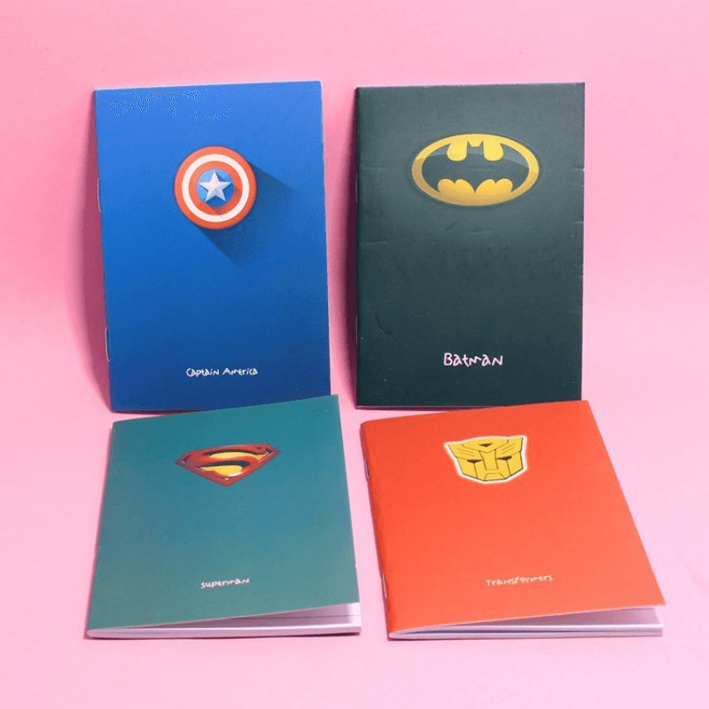 Superhero Diary Notebook